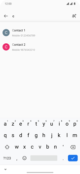 OnePlus 7T Pro - Contact, Appels, SMS/MMS - Envoyer un SMS - Étape 6