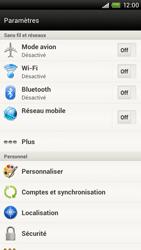 HTC S720e One X - Bluetooth - connexion Bluetooth - Étape 6