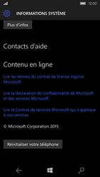 Microsoft Lumia 550 - Aller plus loin - Restaurer les paramètres d'usines - Étape 6