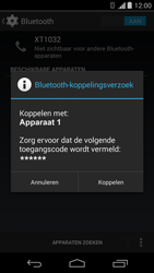 Motorola Moto G - bluetooth - headset, carkit verbinding - stap 7