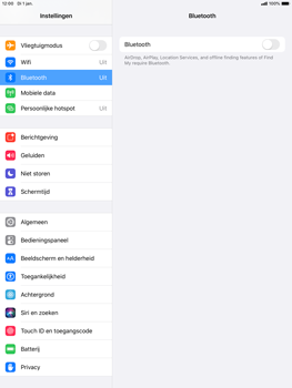 Apple iPad 10.2 - Bluetooth - koppelen met ander apparaat - Stap 6