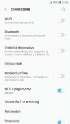 Samsung Galaxy S6 - Android Nougat - Internet e roaming dati - Come verificare se la connessione dati è abilitata - Fase 5