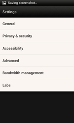 HTC One SV - Internet and data roaming - Manual configuration - Step 21