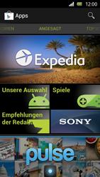 Sony Xperia U - Apps - Einrichten des App Stores - Schritt 15