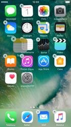 Apple iPhone 6s iOS 10 - Operazioni iniziali - Personalizzazione della schermata iniziale - Fase 4
