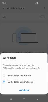 Samsung Galaxy S10 - Internet - Stel mobiele hotspot in - Stap 7