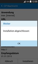 Samsung Galaxy J1 - Internet - Automatische Konfiguration - 9 / 12