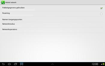 Samsung P5100 Galaxy Tab 2 10-1 - Bellen - in het buitenland - Stap 6