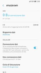 Samsung Galaxy S6 Edge - Android Nougat - Internet e roaming dati - Come verificare se la connessione dati è abilitata - Fase 7