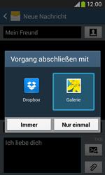 Samsung Galaxy Core Plus - MMS - Erstellen und senden - 2 / 2
