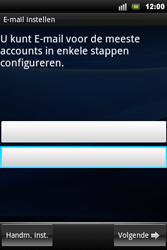 Sony Xperia Mini Pro - E-mail - Handmatig instellen - Stap 5