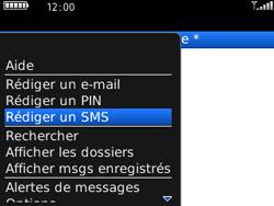 BlackBerry 8520 - Contact, Appels, SMS/MMS - Envoyer un SMS - Étape 5