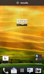HTC Desire X - Operazioni iniziali - Installazione di widget e applicazioni nella schermata iniziale - Fase 5