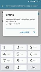 Samsung Galaxy S7 - Beveiliging en ouderlijk toezicht - Hoe wijzig ik mijn SIM PIN-code - Stap 9