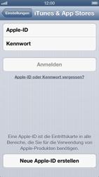 Apple iPhone 5 - Apps - Einrichten des App Stores - Schritt 4