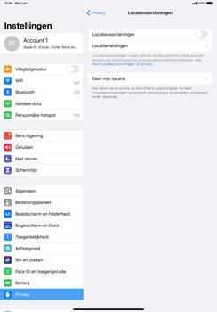 Apple iPad Pro 11 inch 2nd generation (2020) (Model A2230) - Beveiliging en ouderlijk toezicht - Zoek mijn iPad inschakelen - Stap 5