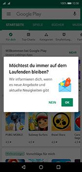 Huawei P20 - Android Pie - Apps - Konto anlegen und einrichten - Schritt 20
