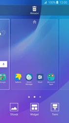 Samsung Samsung Galaxy J3 2016 - Operazioni iniziali - Installazione di widget e applicazioni nella schermata iniziale - Fase 4