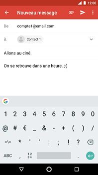 Nokia 6 (2018) - E-mail - Envoi d