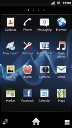 Sony ST25i Xperia U - MMS - Sending pictures - Step 2