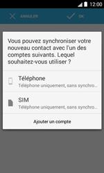 Bouygues Telecom Bs 403 - Contact, Appels, SMS/MMS - Ajouter un contact - Étape 5