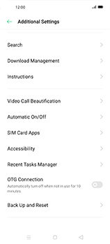 Oppo Find X2 Neo - Mobile phone - Resetting to factory settings - Step 5