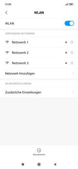 Xiaomi RedMi Note 7 - WiFi - WiFi-Konfiguration - Schritt 5