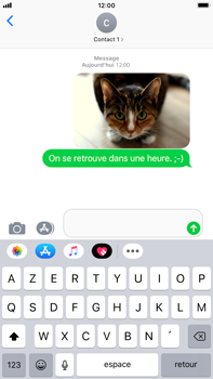 Apple iPhone 6 Plus - iOS 12 - MMS - envoi d'images - Étape 13