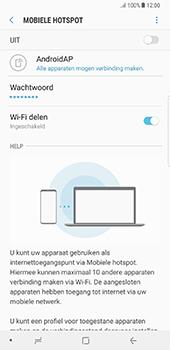 Samsung Galaxy Note 8 (SM-N950F) - WiFi - Mobiele hotspot instellen - Stap 12