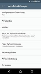 Sony Xperia XZ - Android Nougat - Anrufe - Rufumleitungen setzen und löschen - Schritt 5
