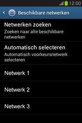 Samsung S6810P Galaxy Fame - netwerk en bereik - gebruik in binnen- en buitenland - stap 8