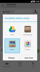 Huawei Ascend G6 - MMS - Sending pictures - Step 13