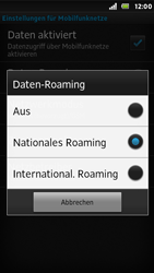 Sony Xperia U - Ausland - Auslandskosten vermeiden - 9 / 9