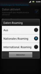 Sony Xperia U - Ausland - Auslandskosten vermeiden - Schritt 9