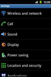 Samsung S7500 Galaxy Ace Plus - Internet - Manual configuration - Step 4