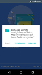 Sony Xperia X Performance - E-Mail - Konto einrichten (outlook) - 10 / 18