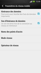 HTC One - Aller plus loin - Désactiver les données à l'étranger - Étape 5