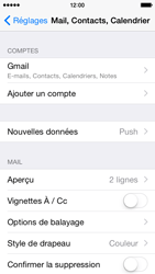 Apple iPhone 5 iOS 8 - E-mail - Configuration manuelle (gmail) - Étape 10