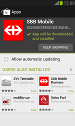 Samsung Galaxy S III Mini - Applications - Installing applications - Step 22