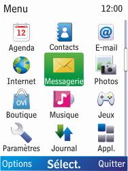 Nokia X2-00 - E-mail - Configuration manuelle - Étape 3