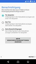 Sony Xperia XZ - E-Mail - Konto einrichten - 21 / 25