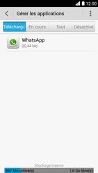 Bouygues Telecom Ultym 5 - Applications - Supprimer une application - Étape 5