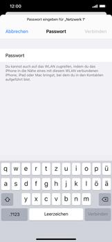 Apple iPhone XS Max - iOS 14 - WiFi - WiFi-Konfiguration - Schritt 6