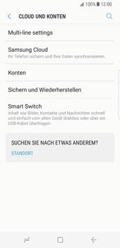 Samsung Galaxy S8 - Datenschutz und Sicherheit - Samsung einrichten - 5 / 18