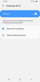 Samsung Galaxy S9 - Android Pie - WiFi - Attivare WiFi Calling - Fase 11