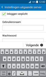 Samsung J100H Galaxy J1 - E-mail - Handmatig instellen - Stap 13