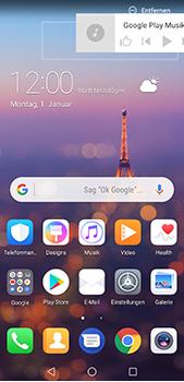 Huawei P20 Pro - Startanleitung - Installieren von Widgets und Apps auf der Startseite - Schritt 11
