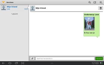 Samsung P7500 Galaxy Tab 10-1 - MMS - Afbeeldingen verzenden - Stap 12