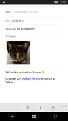 Microsoft Lumia 650 - E-Mail - E-Mail versenden - Schritt 15