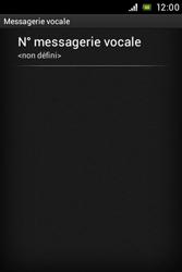 Sony C1505 Xperia E - Messagerie vocale - configuration manuelle - Étape 7